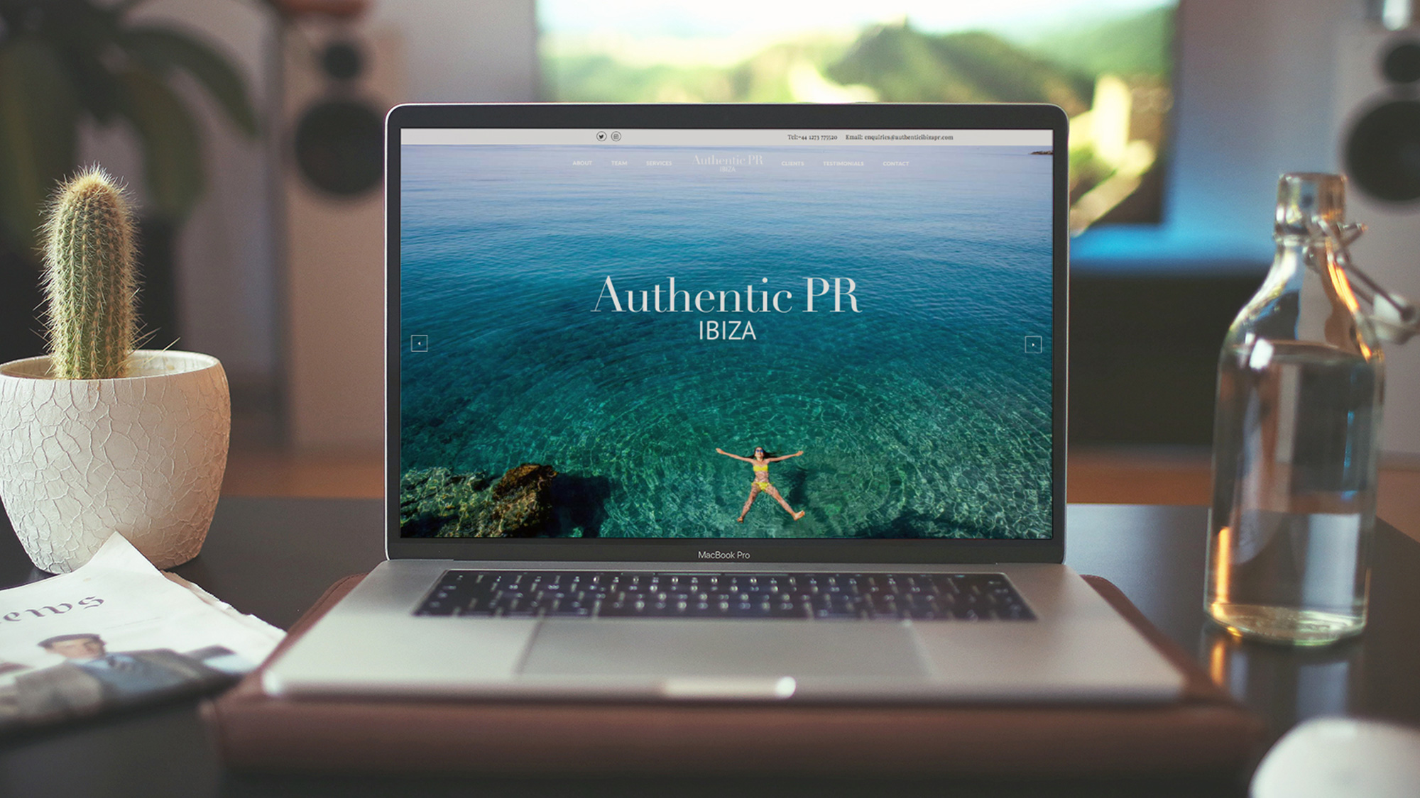 Authentic Ibiza PR Website