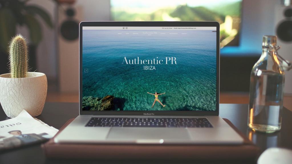 Authentic Ibiza PR Website
