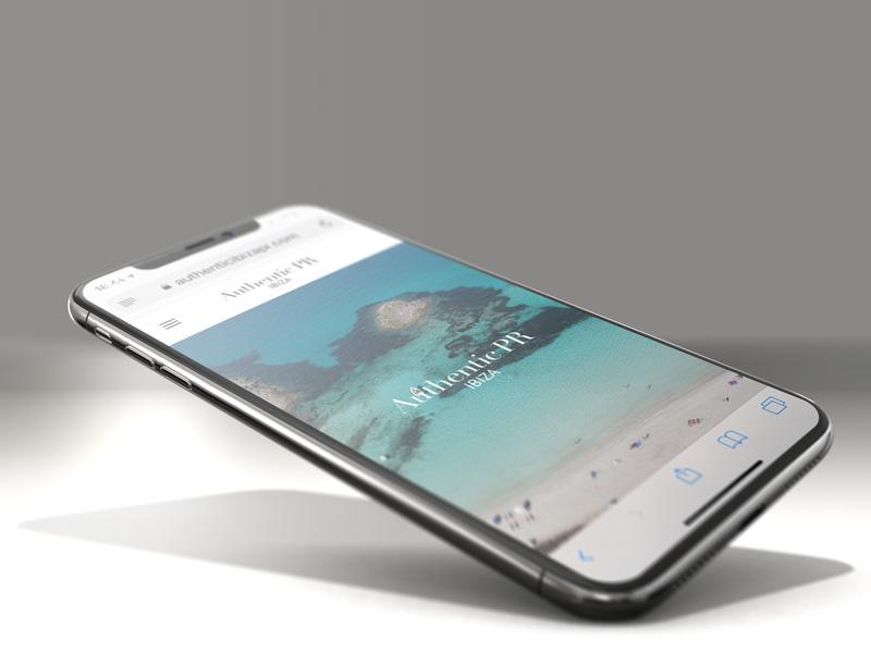Ibiza iPhone website